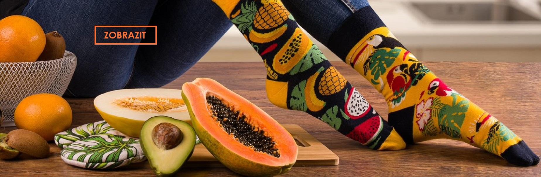 Veselé,zábavné ponožky s obrázky