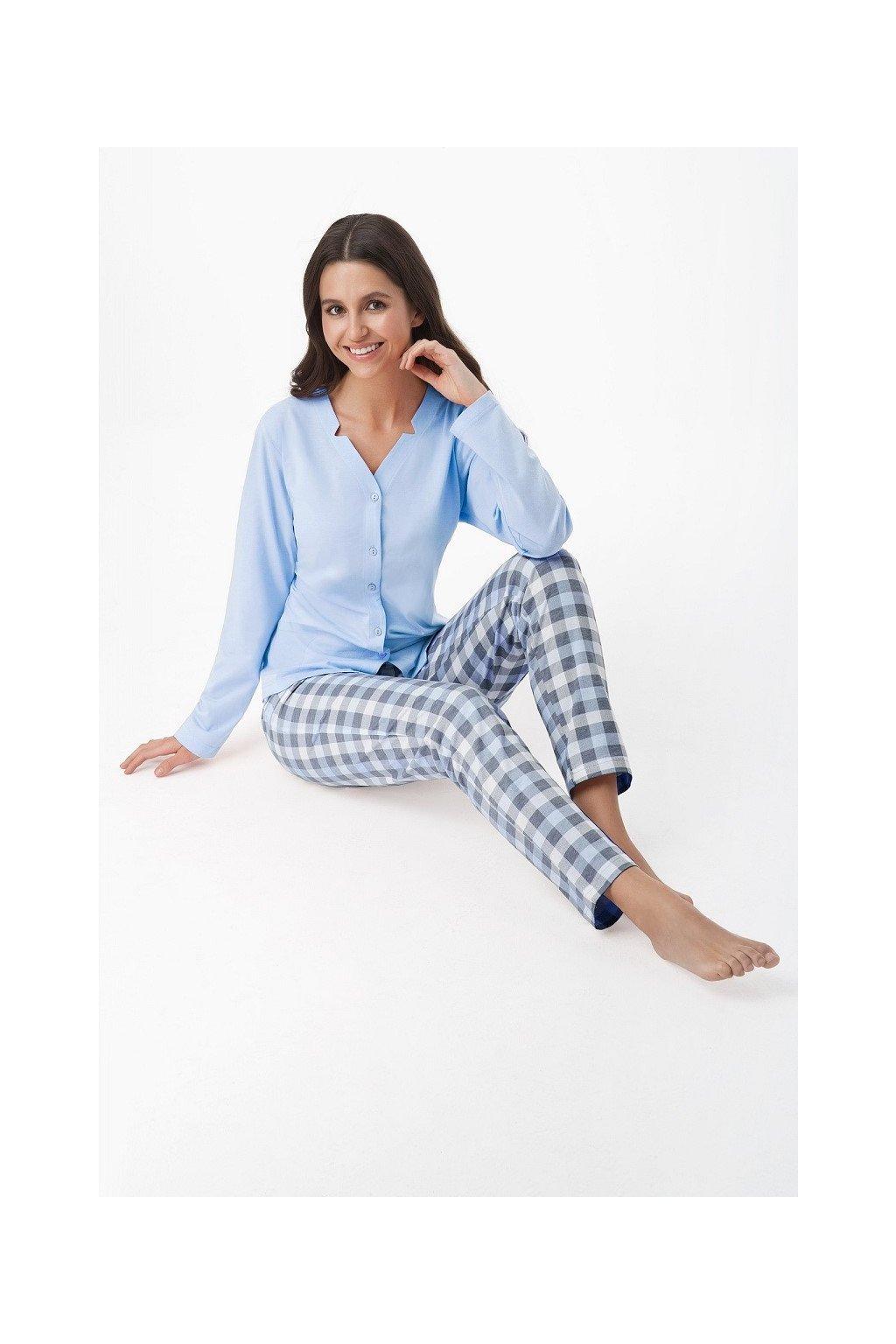 Dámské pyžamo Luna 409 modrá
