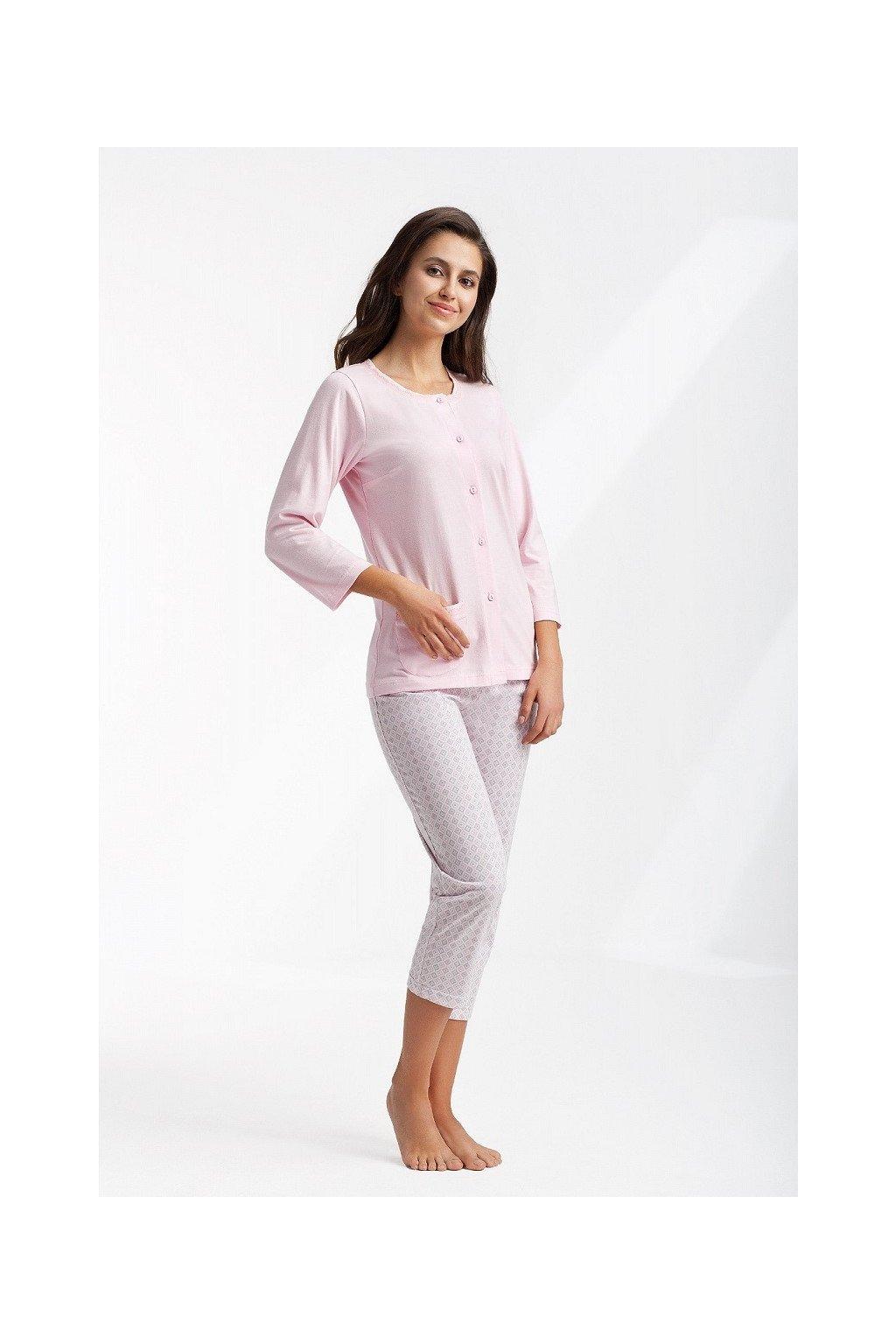 Dámské pyžamo Luna 433 růžová