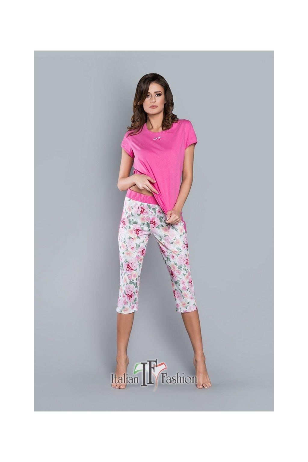 Dámské pyžamo Italian Fashion Nasturcja
