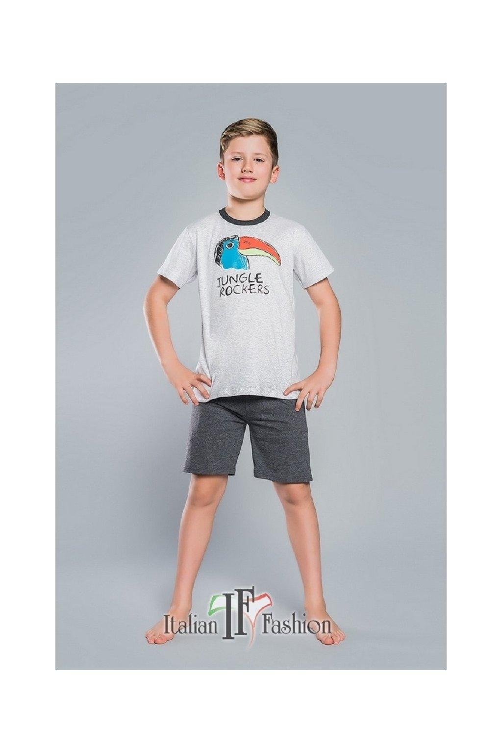 Chlapecké pyžamo Italian Fashion Tukan melanž