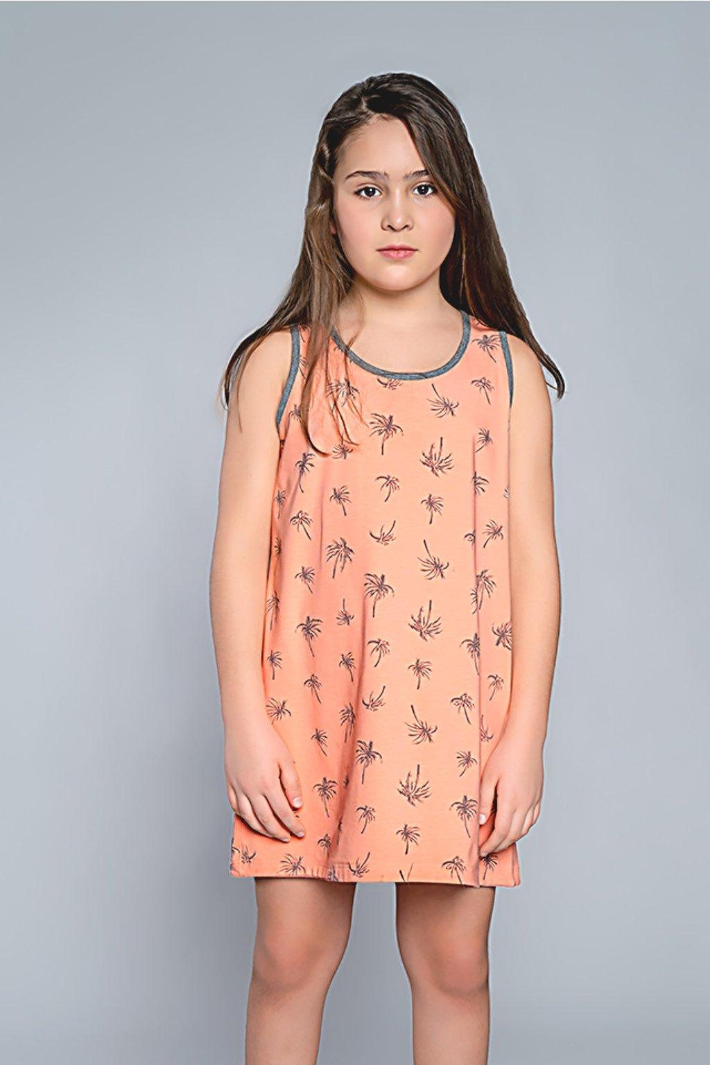 Dívčí noční košile Italian Madera morela