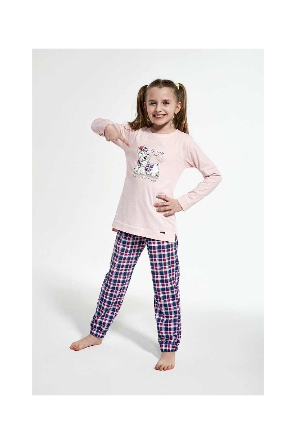 Dívčí pyžamo Cornette 780-1/113 scottie