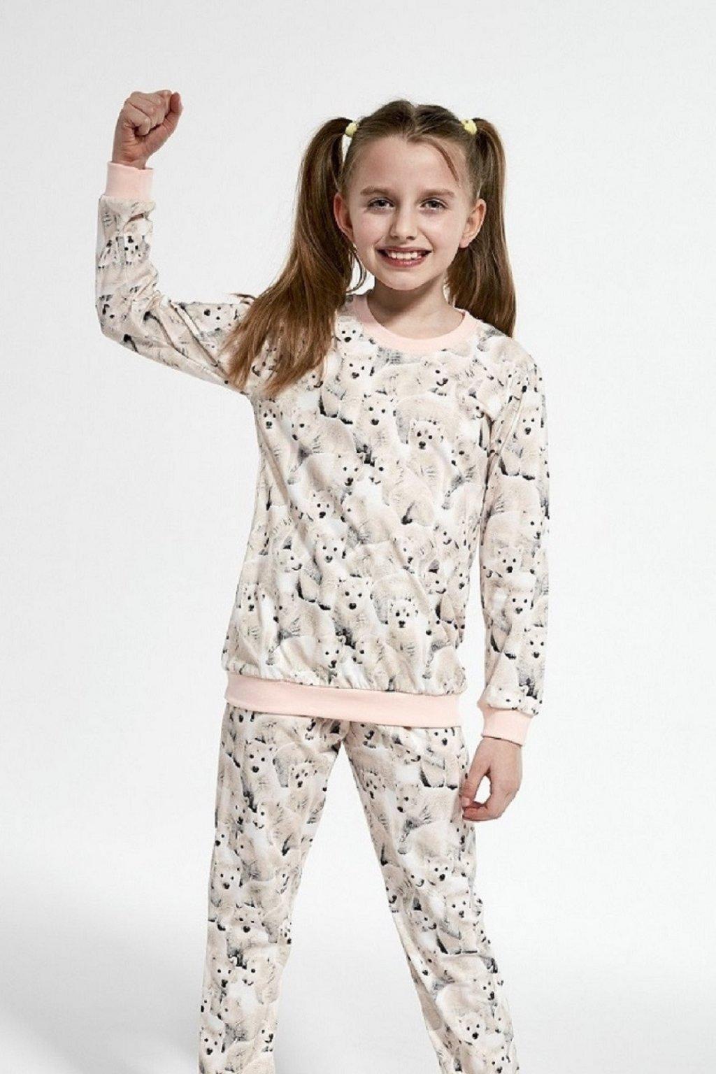 Dívčí pyžamo Cornette 032-3/118 Polar Bear