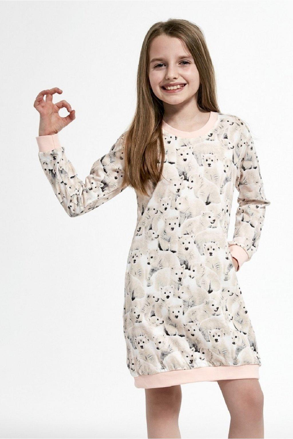 Noční košile dívčí Cornette 942/120 Polar Bear