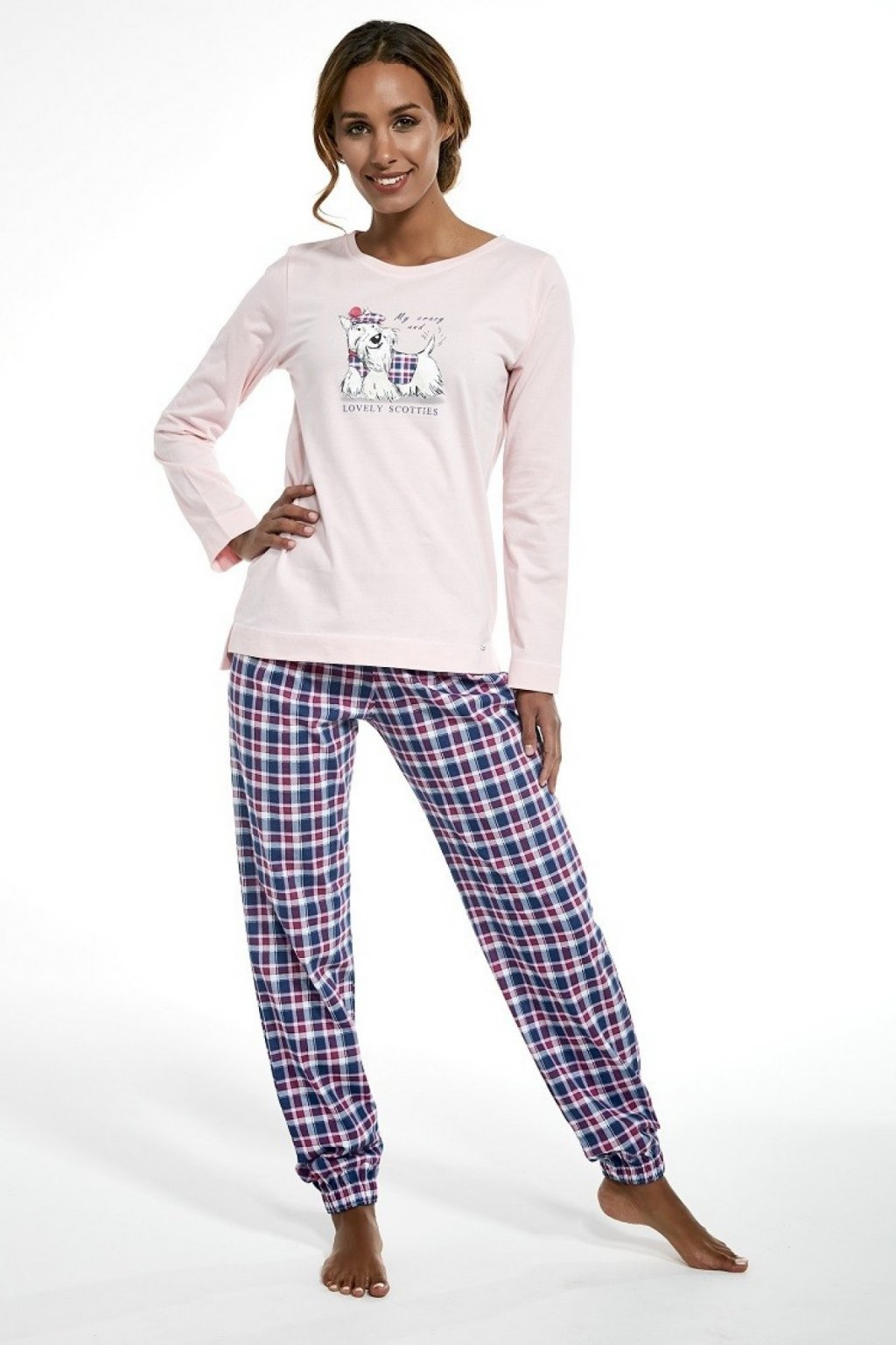 Dámské pyžamo Cornette 627/229 Scottie