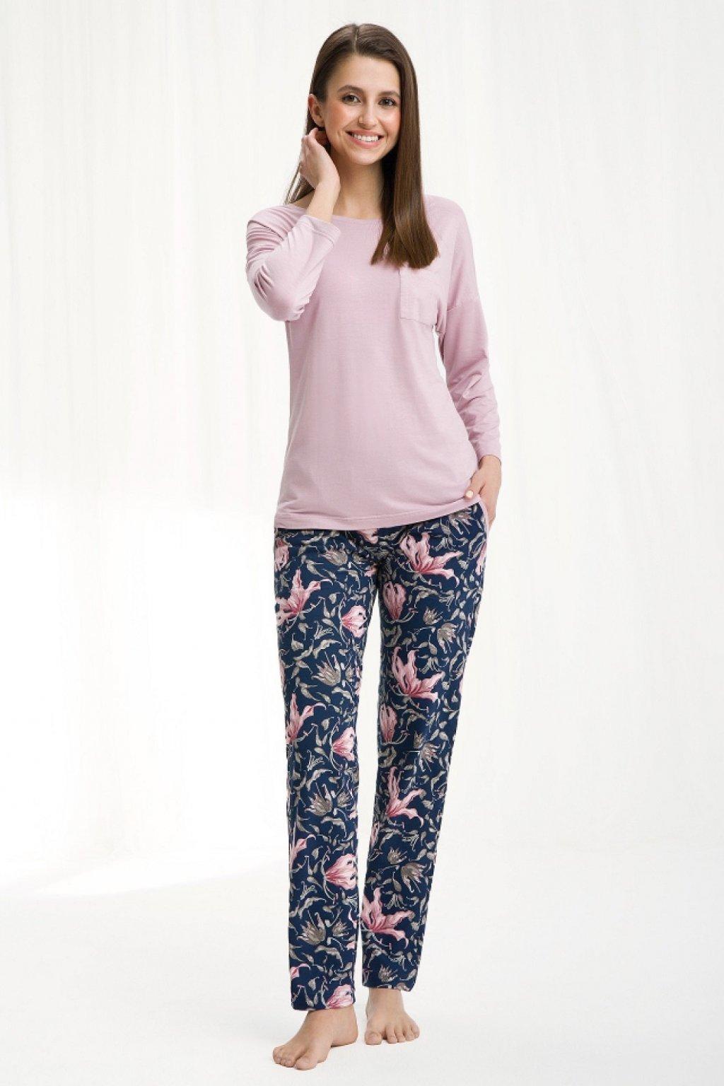 Dámské pyžamo Luna 444 pink