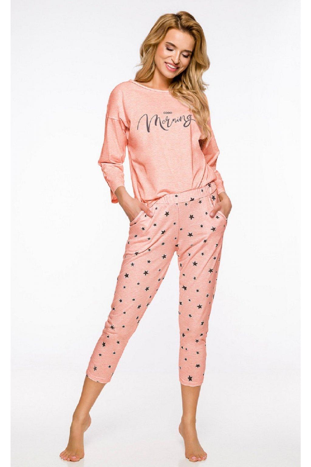 Dámské pyžamo Taro Molly 2314 meruňka