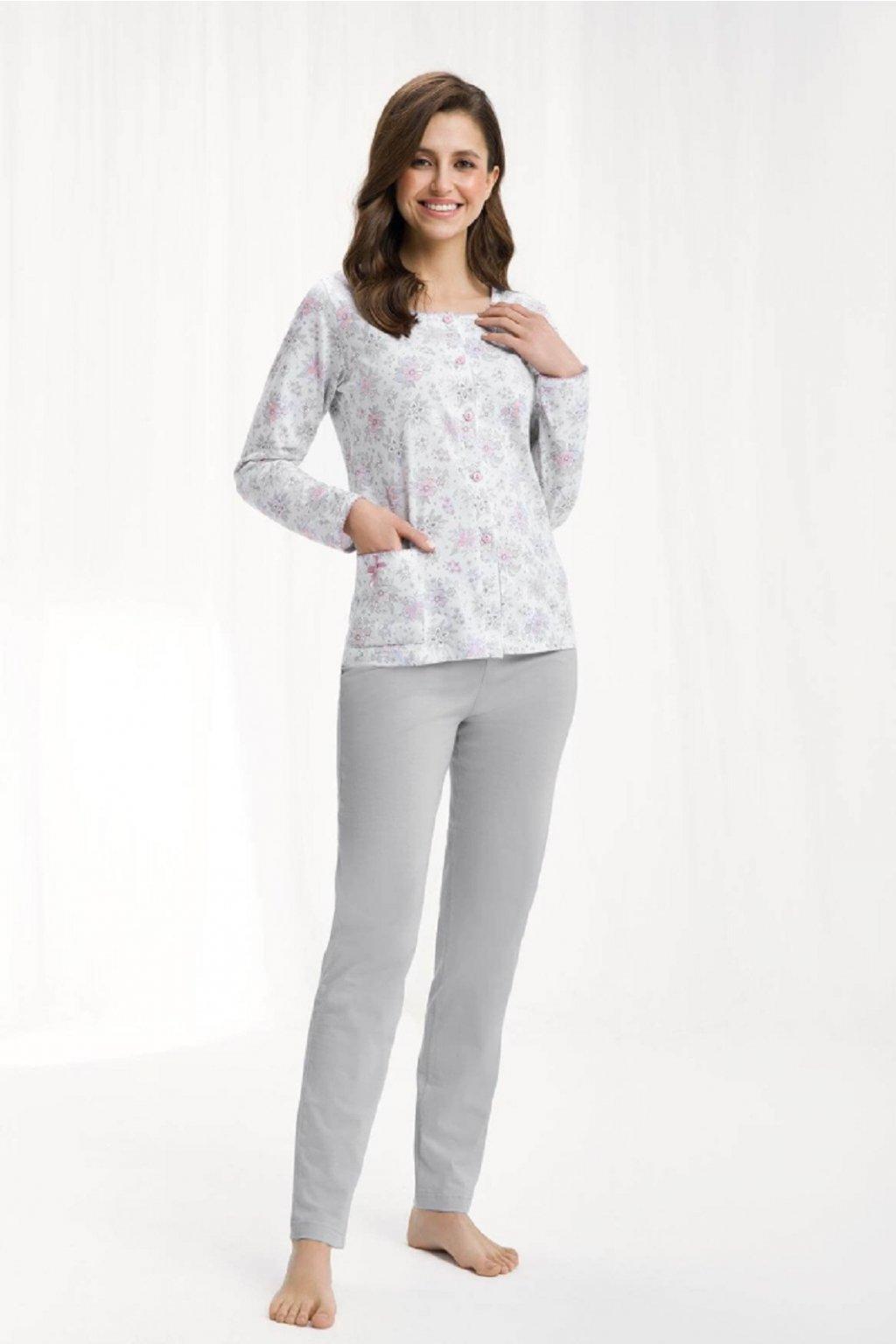 Dámské pyžamo 456 gray