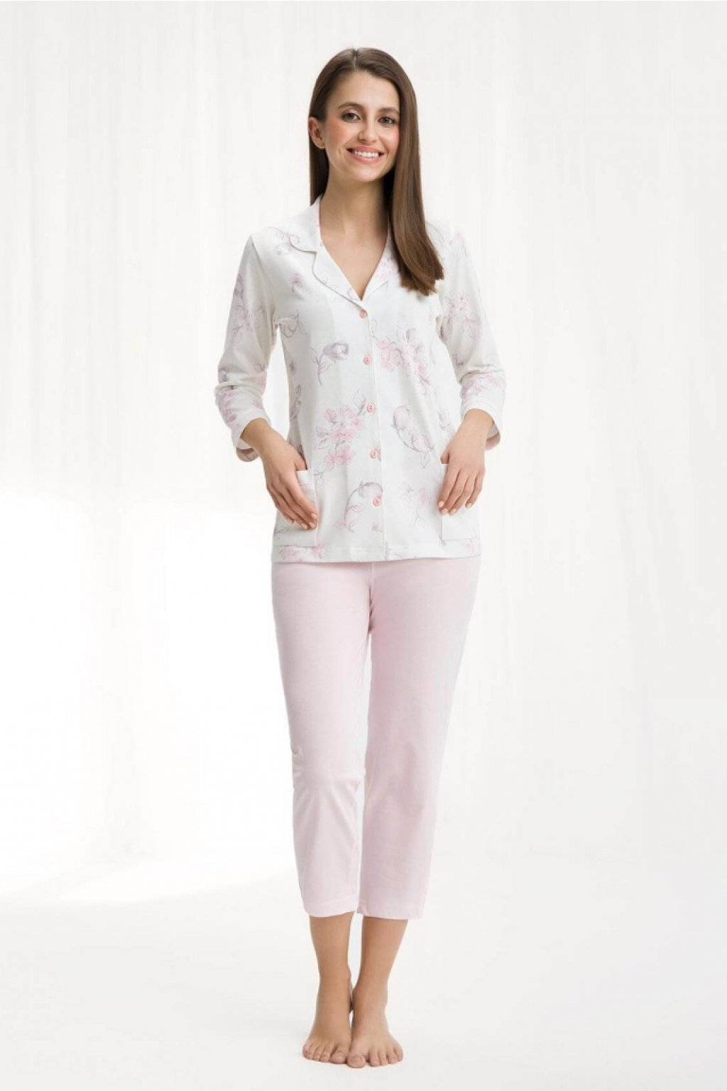 Dámské pyžamo 453 pink