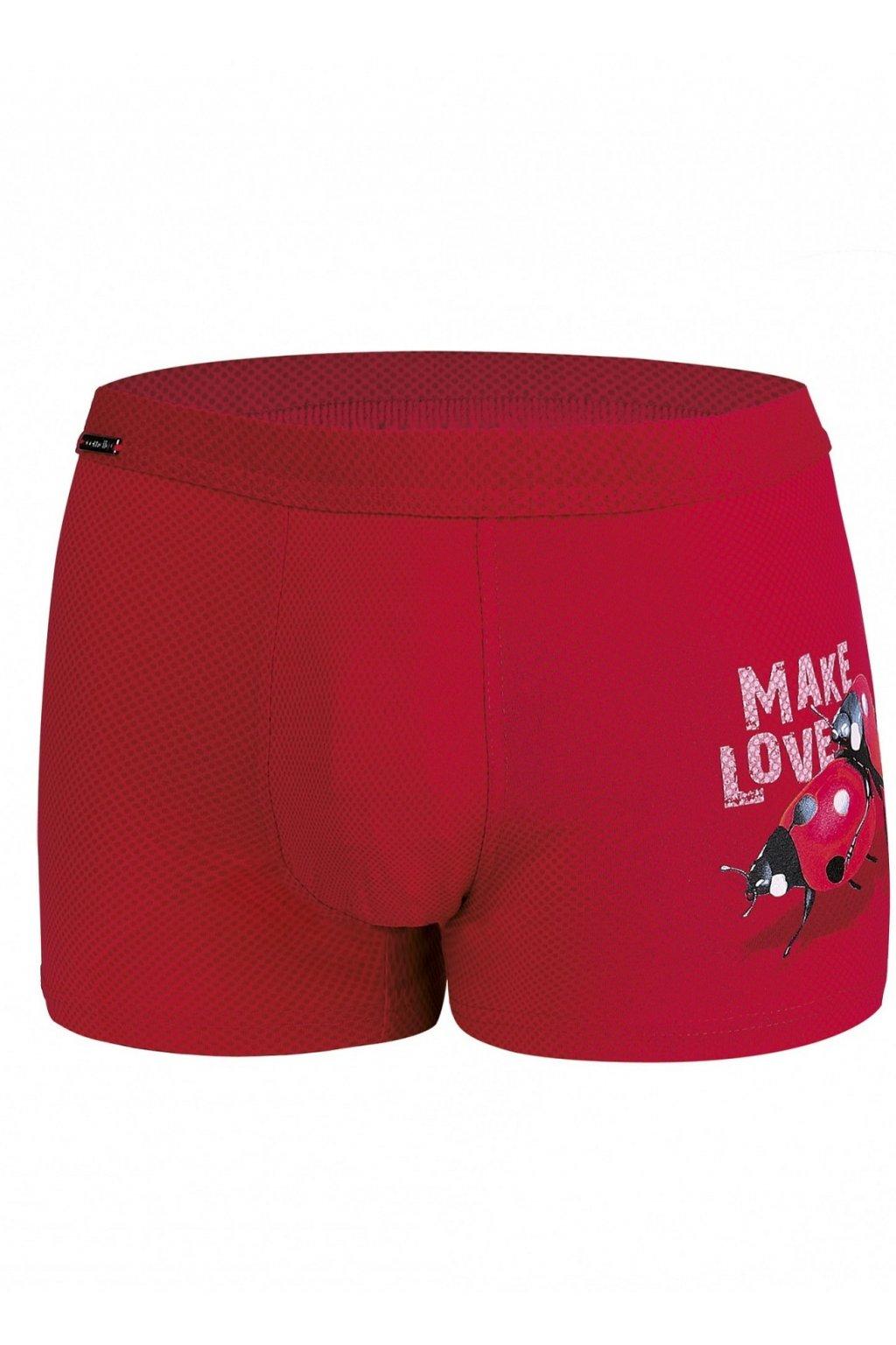 Boxerky Cornette 010/62 Make Love 2