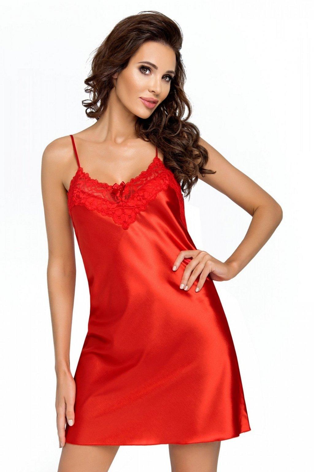 Dámská noční košile Donna Eva red