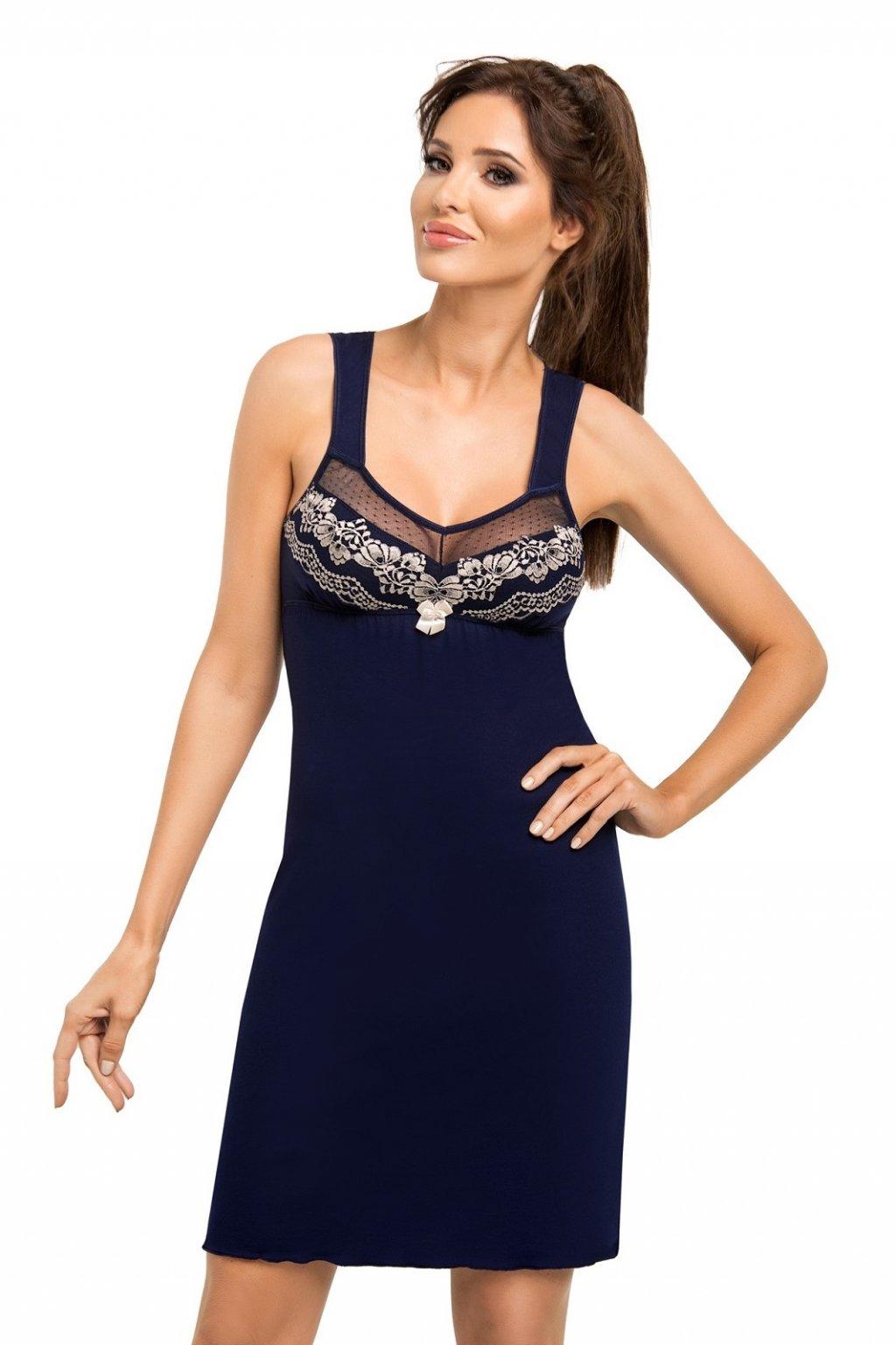 Dámská noční košile Donna Jasmine dark blue