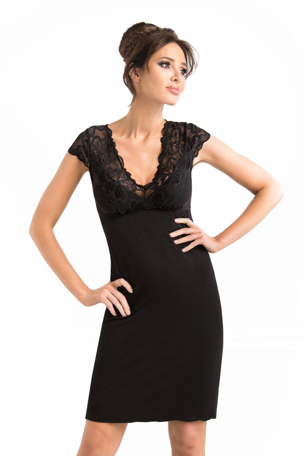 Dámská noční košile Donna Romina black