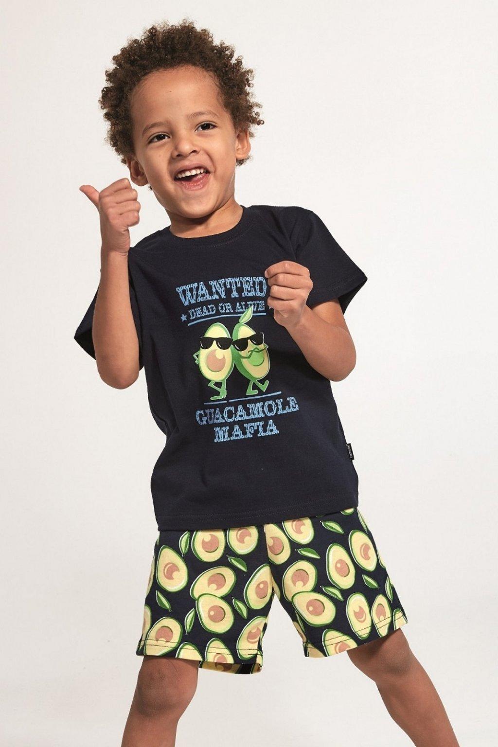 Chlapecké pyžamo Cornette 789-790/84 Avocado 2