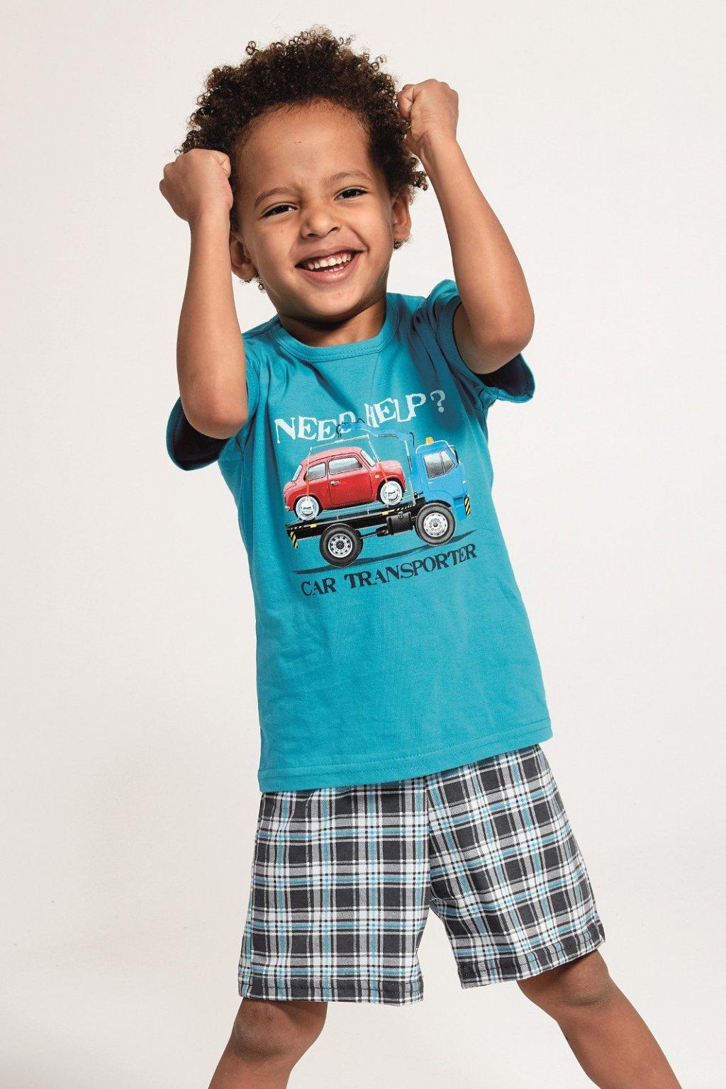 Chlapecké pyžamo Cornette 789/80 Car transporter