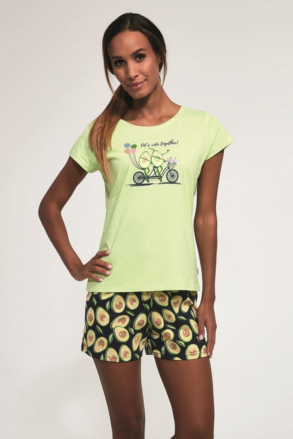 Dámské pyžamo Cornette 628/163 Avocado