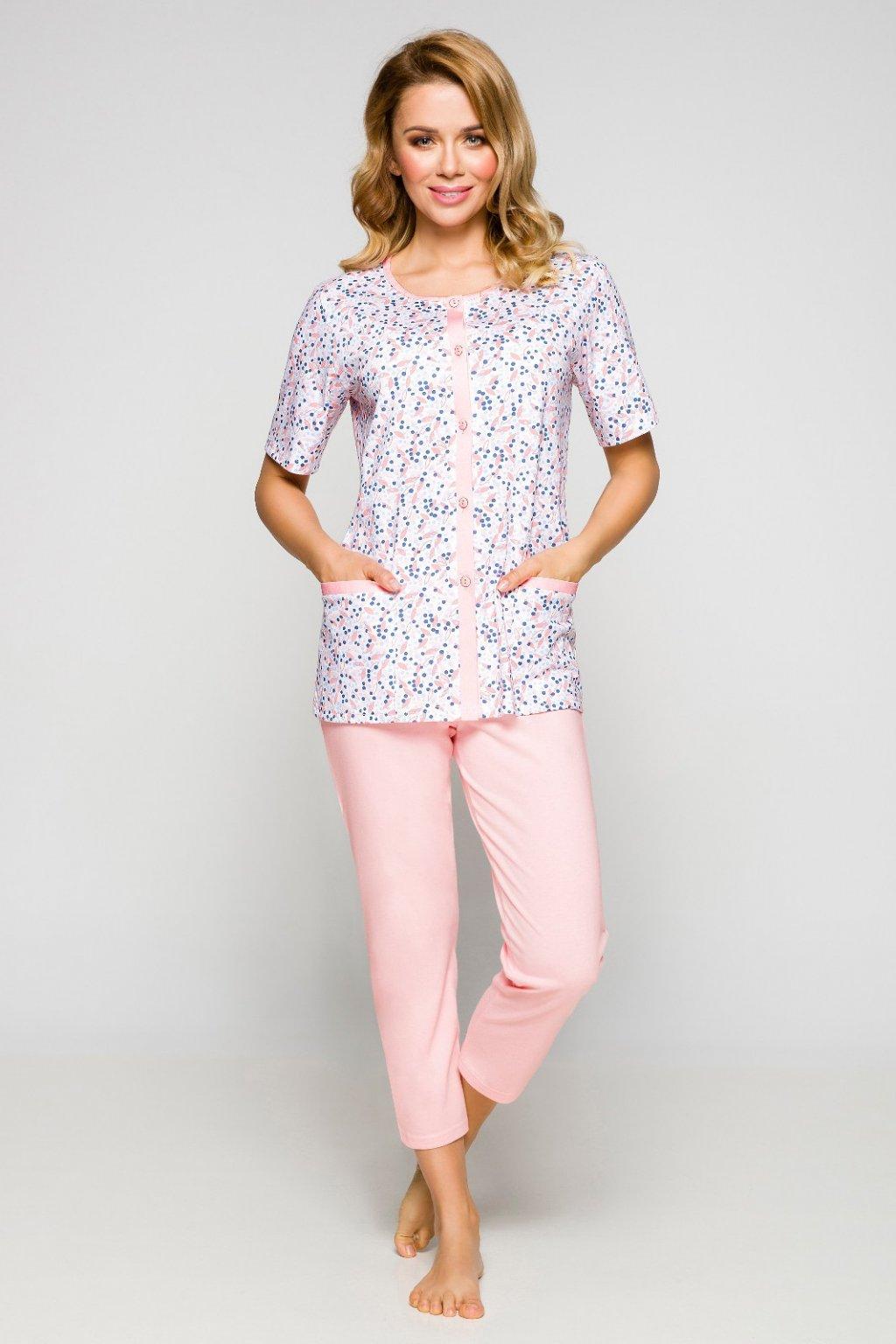 Dámské pyžamo Regina 909 růžová