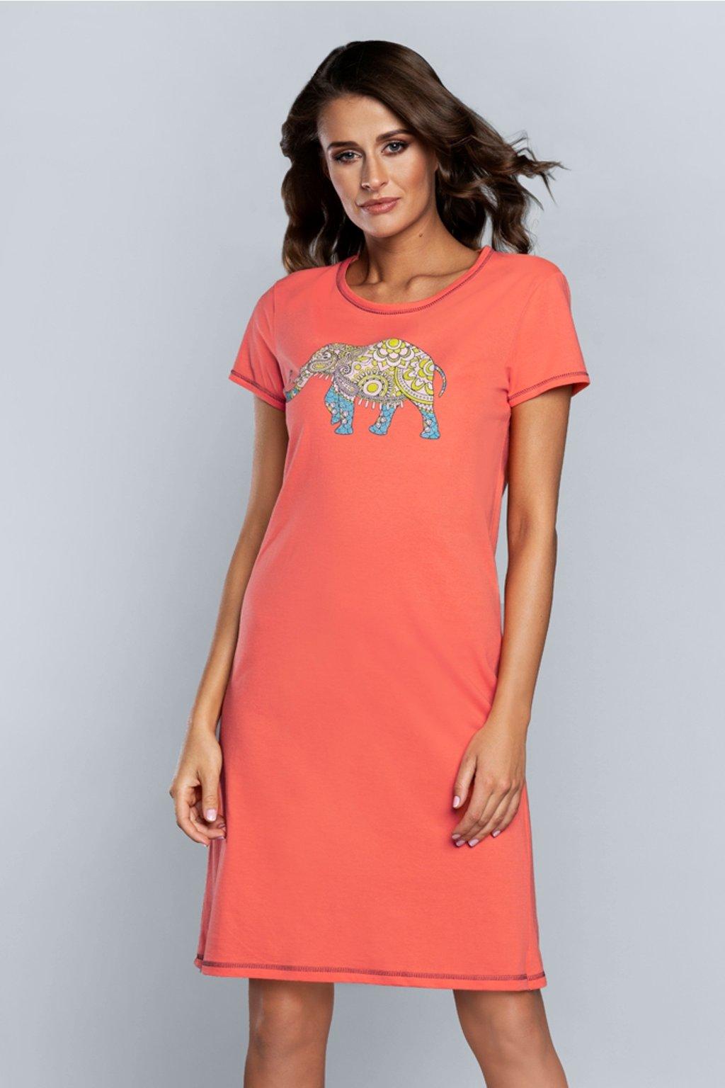 Dámská noční košile Italian Fashion Kongo orange
