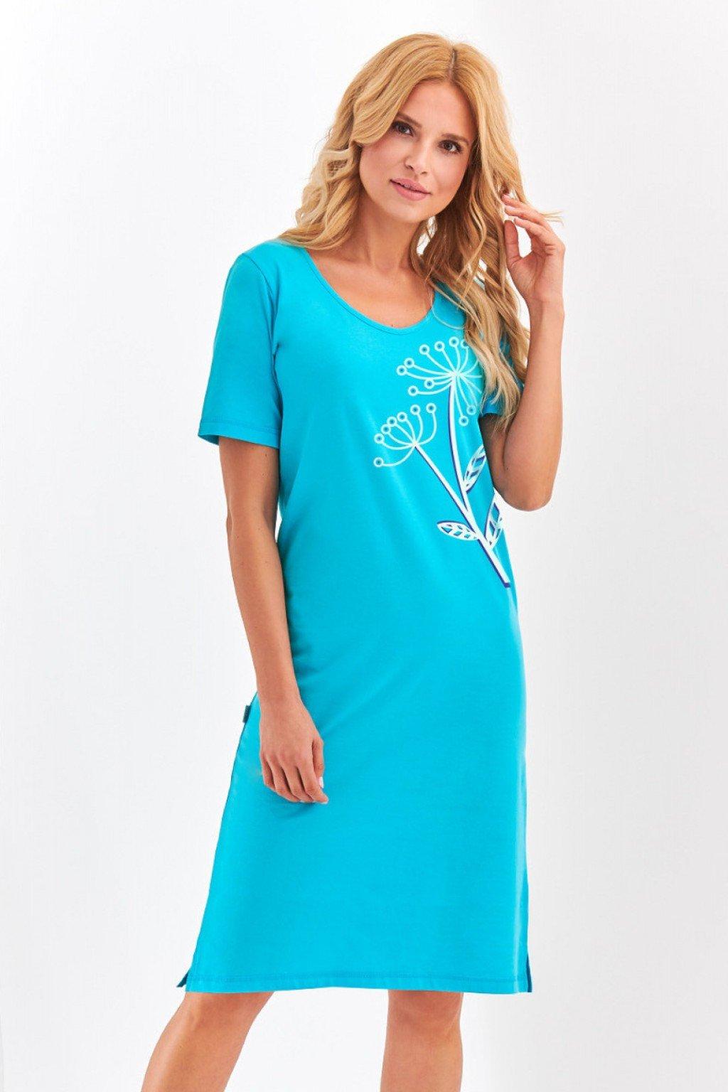 Dámská noční košile Taro Lila/Bella 2365 modrá
