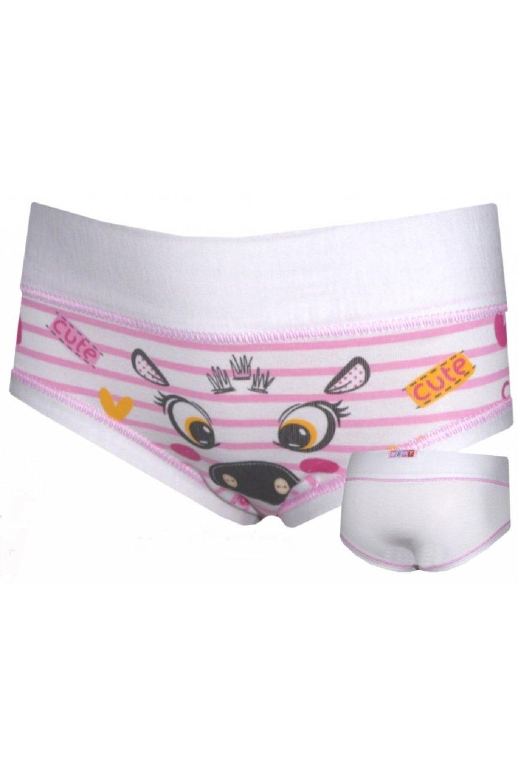 Dívčí kalhotky Emy SPB 2027  Bianco