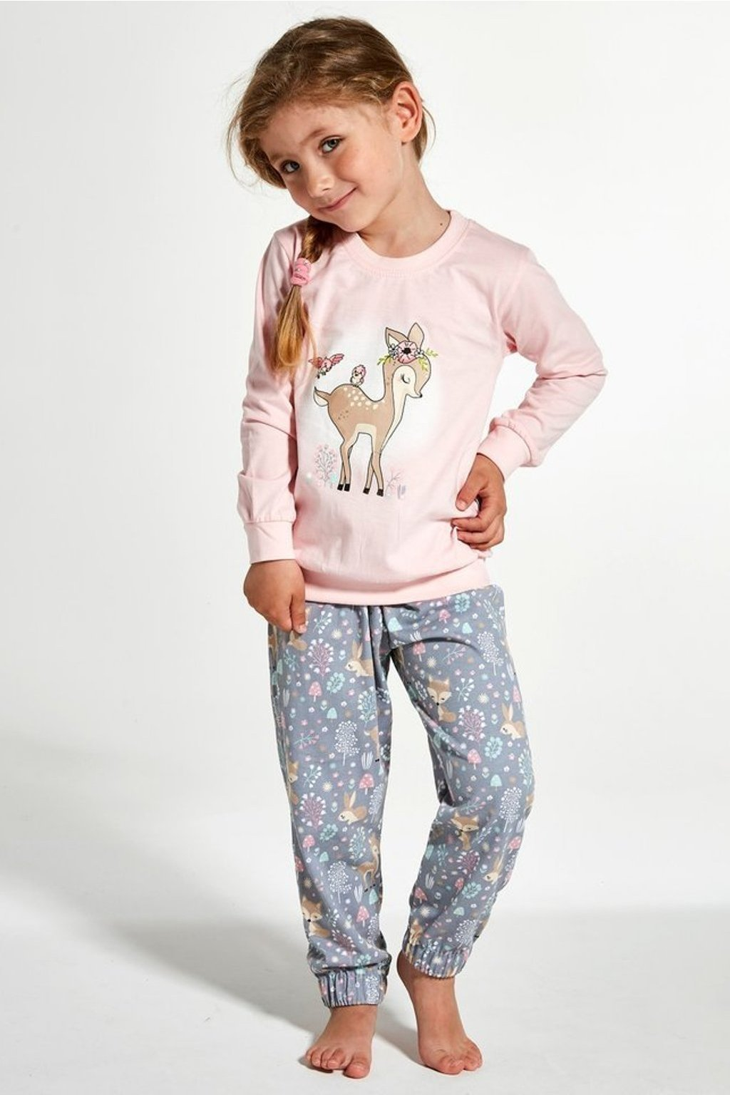 Dívčí pyžamo Cornette 594/122 Roe