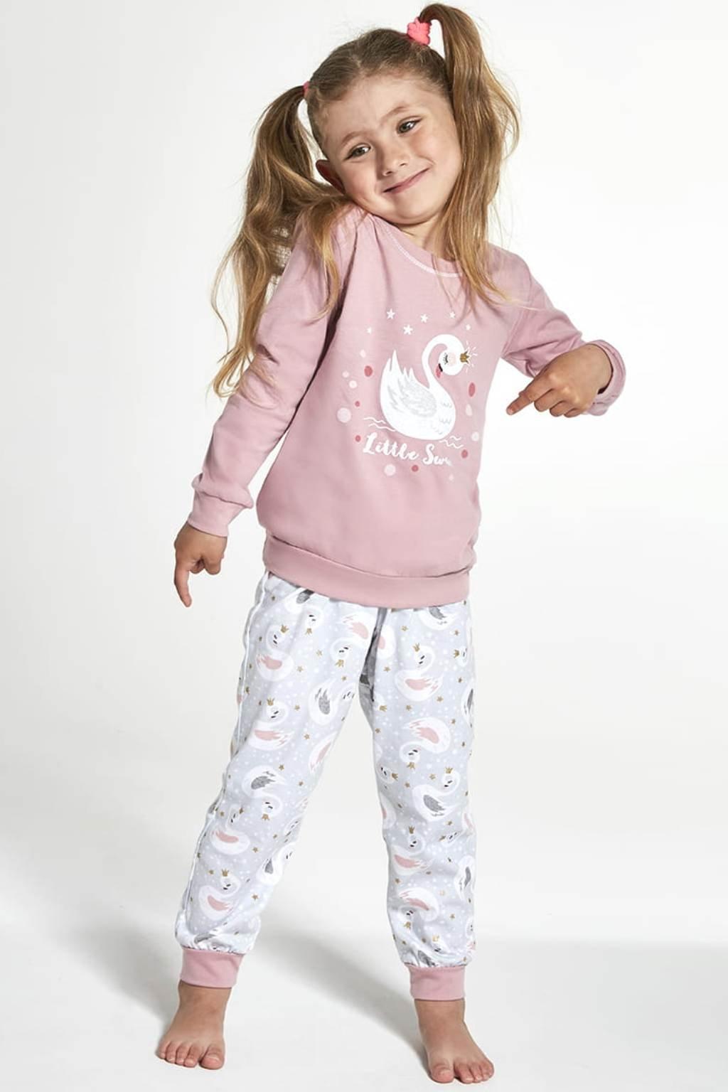 Dívčí pyžamo Cornette 387/123 Little Swan