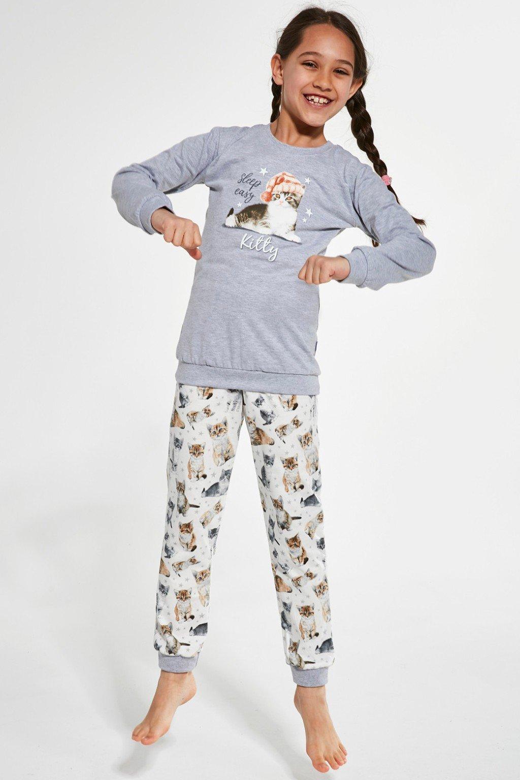 Dívčí pyžamo Cornette 377/135 Kitty