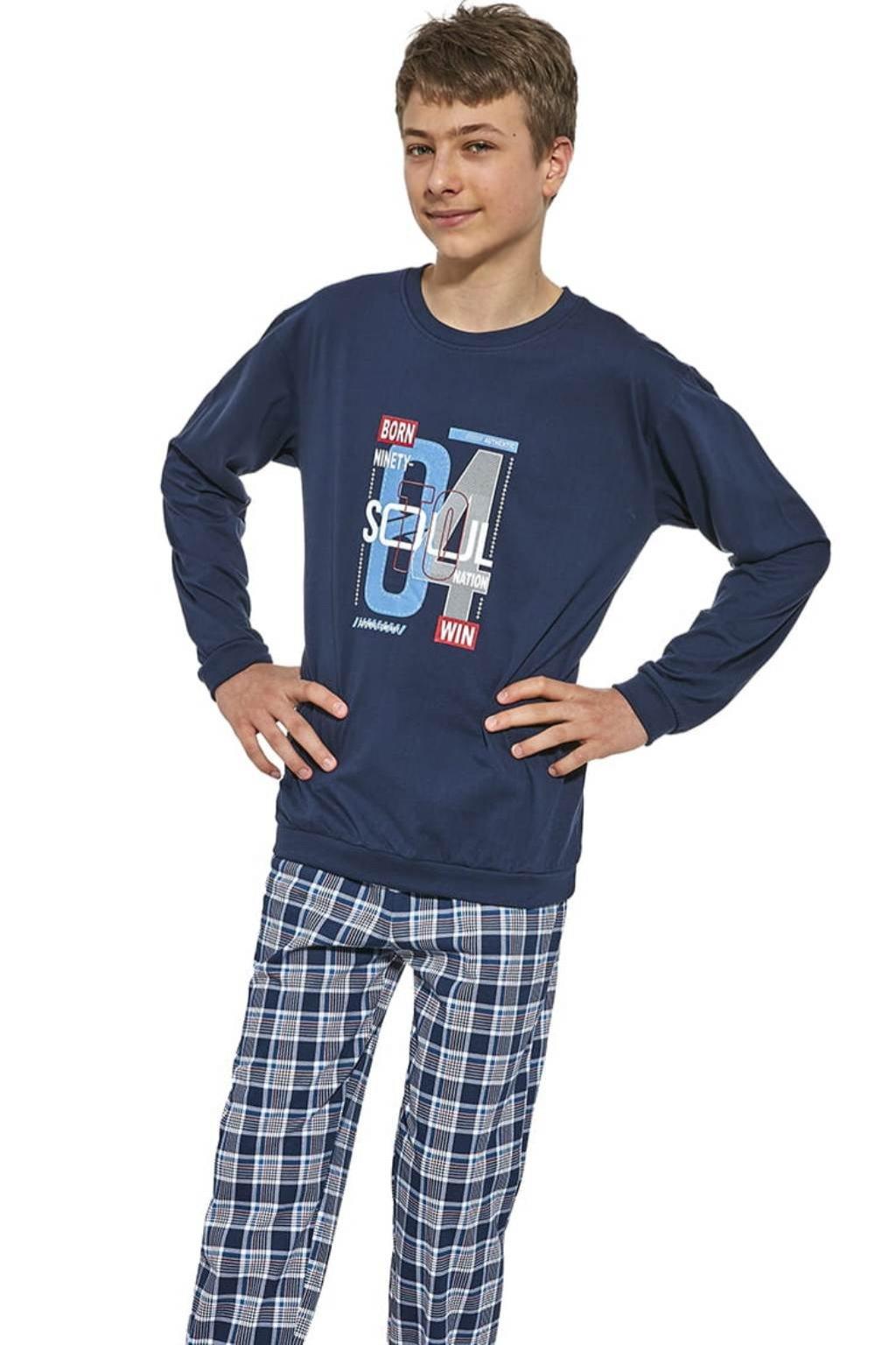Chlapecké pyžamo s dlouhým rukávem Cornette 967/38 Soul