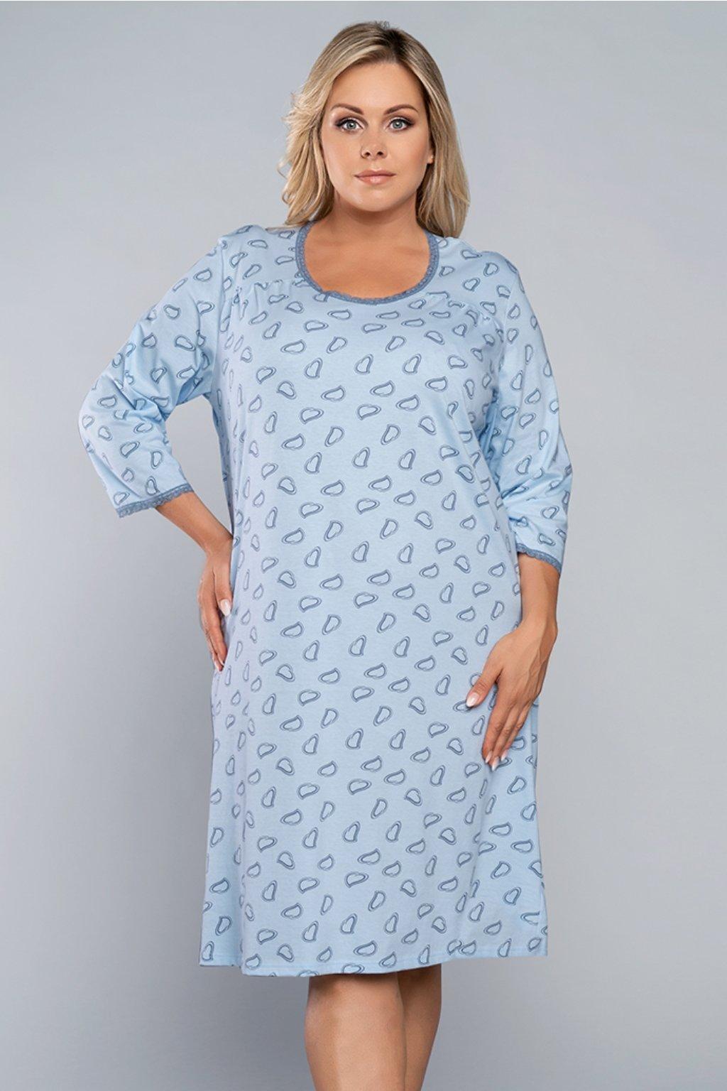 Dámská noční košile Italian Fashion Rozalia 3/4 sky