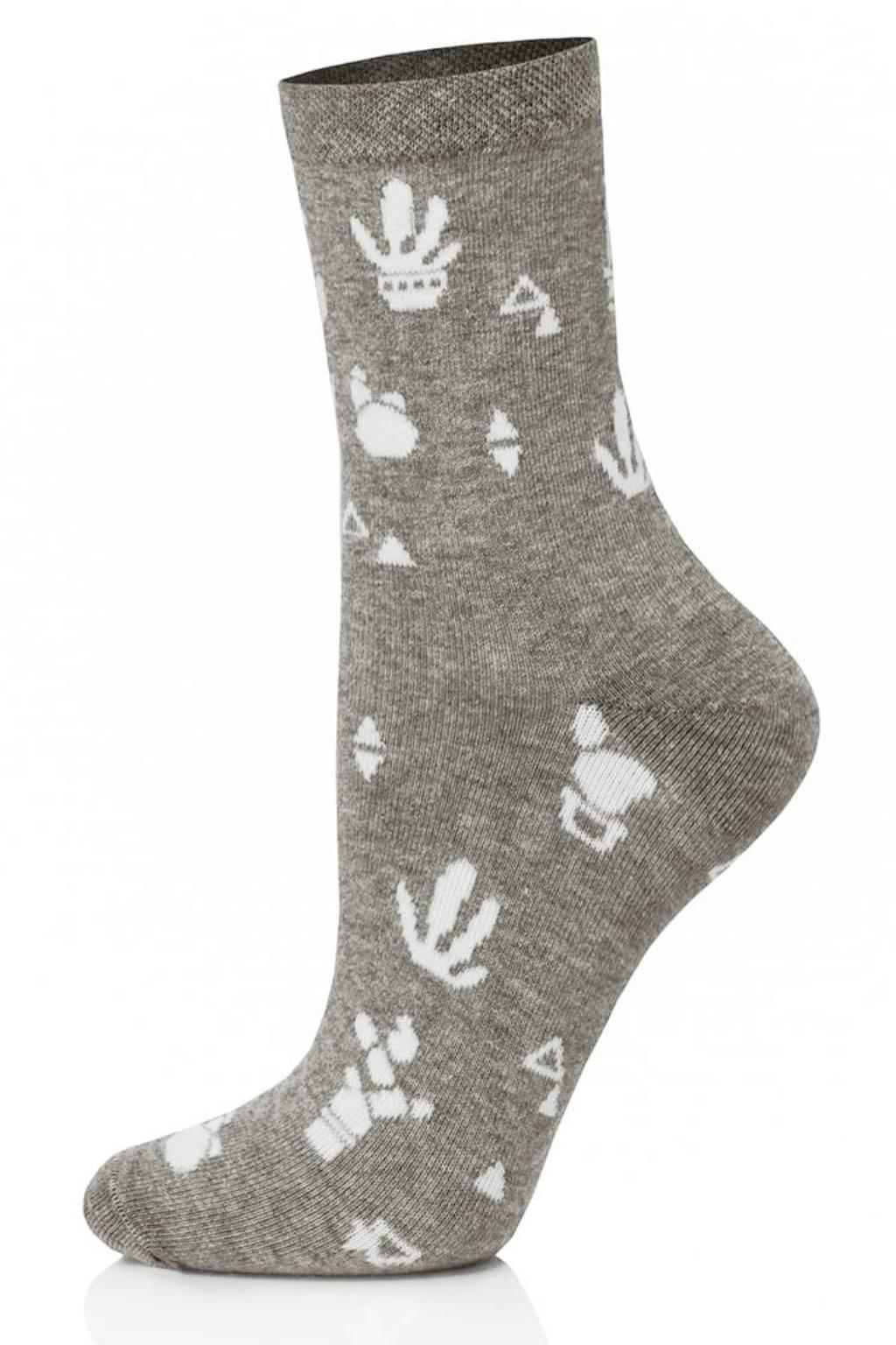 Veselé dámské ponožky Gee One S 108 D Cacti