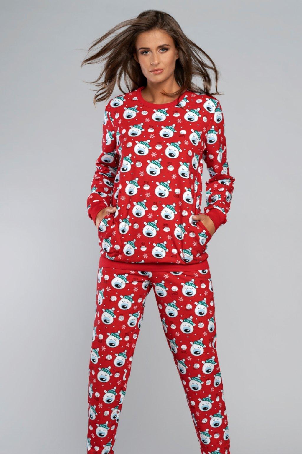 Dámské vánoční pyžamo Italian Fashion Hati