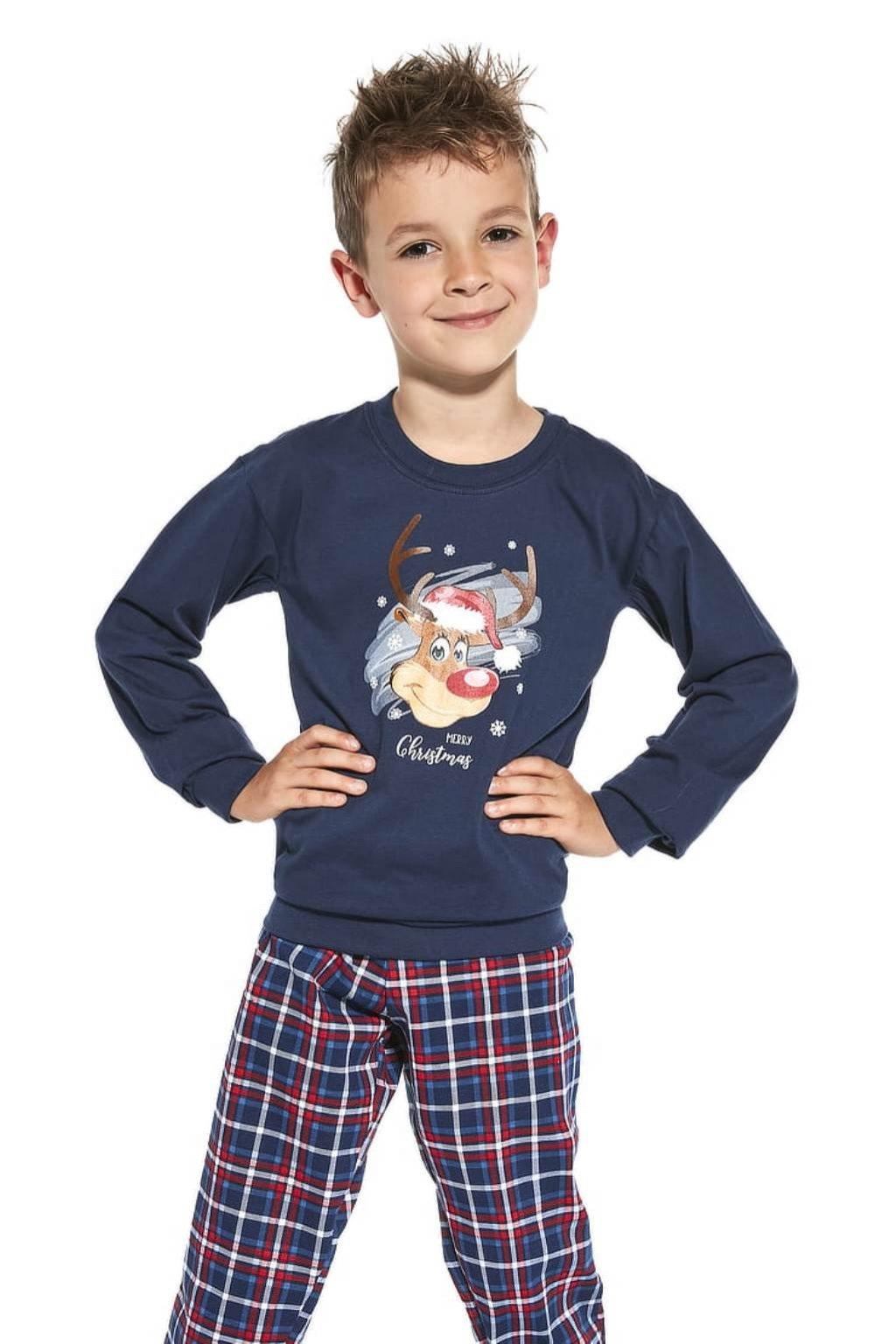 Chlapecké pyžamo Cornette 593-966/113 Reindeer