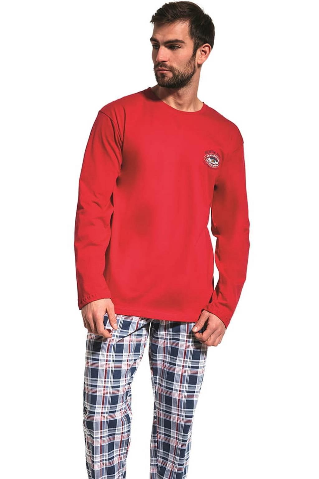 pánské pyžamo s dlouhým rukávem Cornette 124/165 Yukon 2