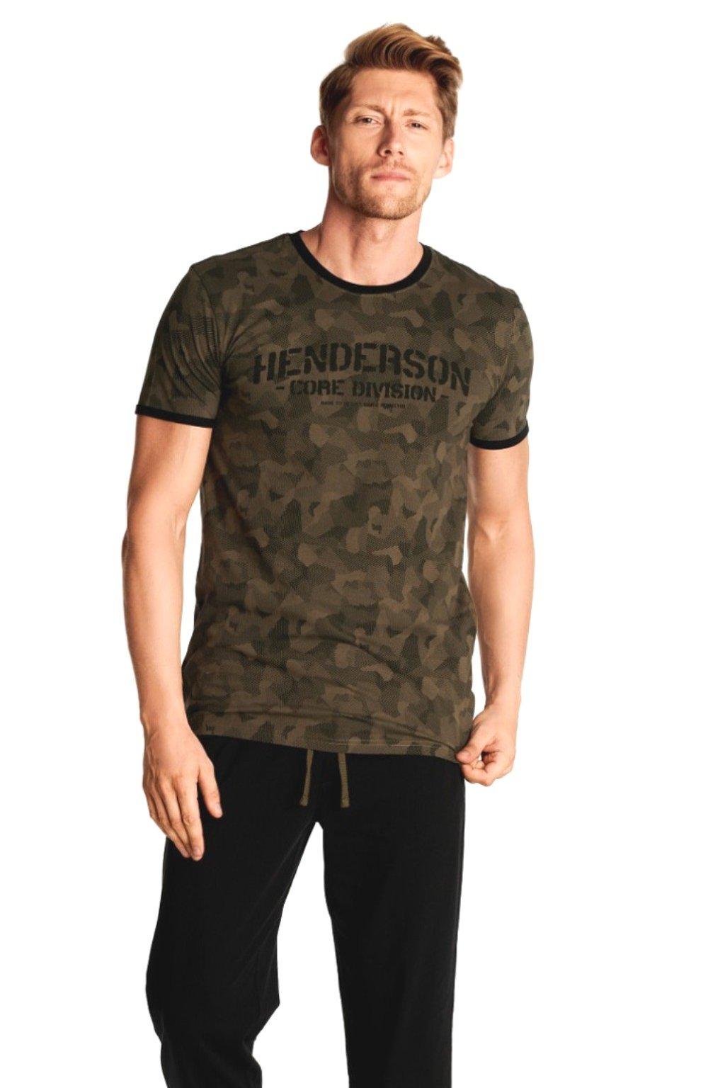 Pánské pyžamo s krátkým rukávem Henderson 38380