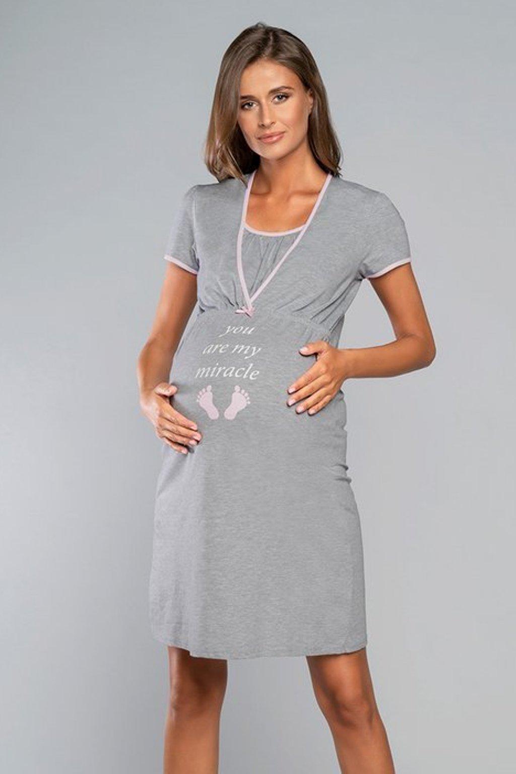 Dámská noční košile pro kojící maminky Italian Fashion Carlina
