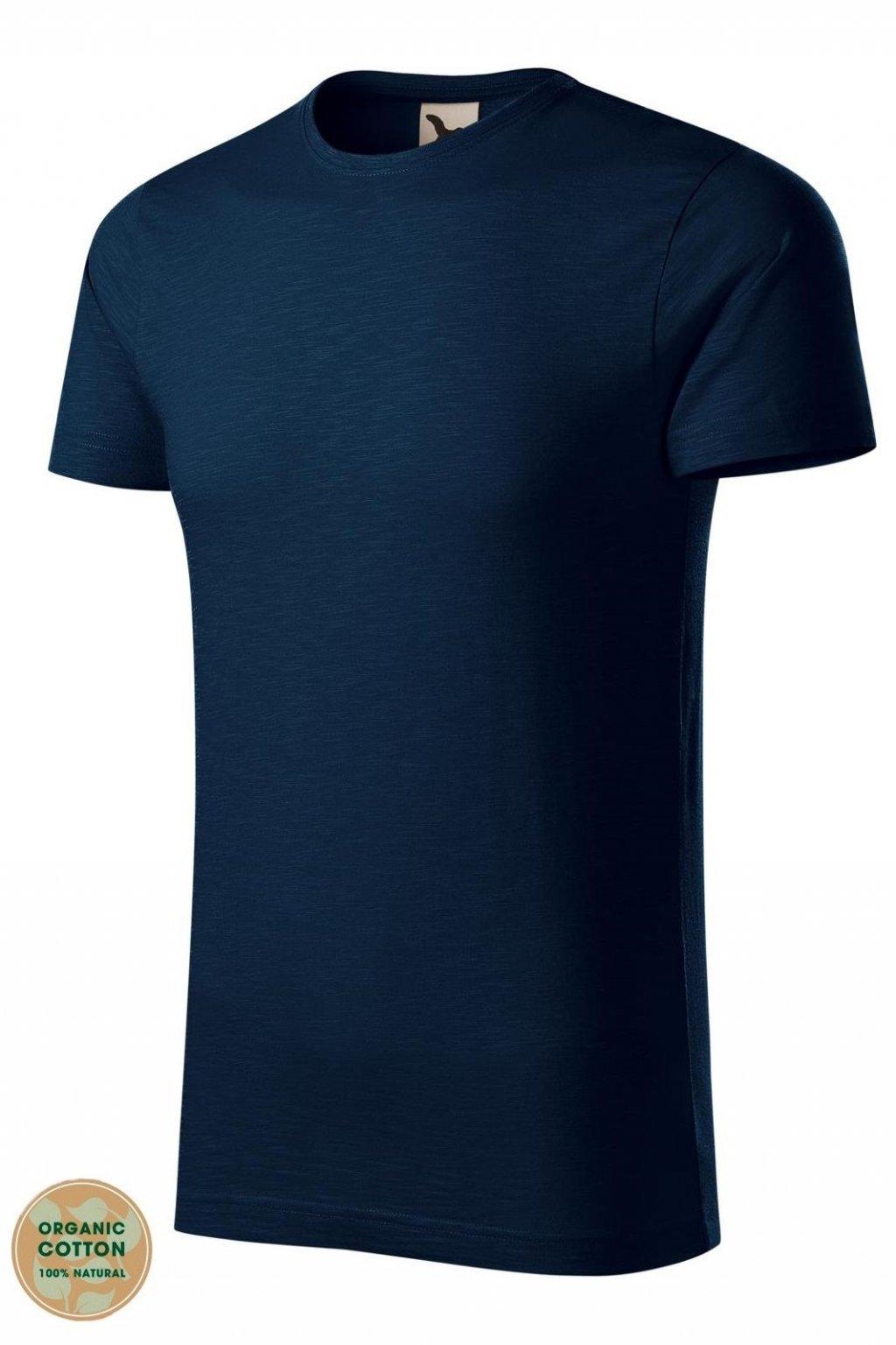 Pánské tričko s krátkým rukávem s organické bavlny MF 173/02