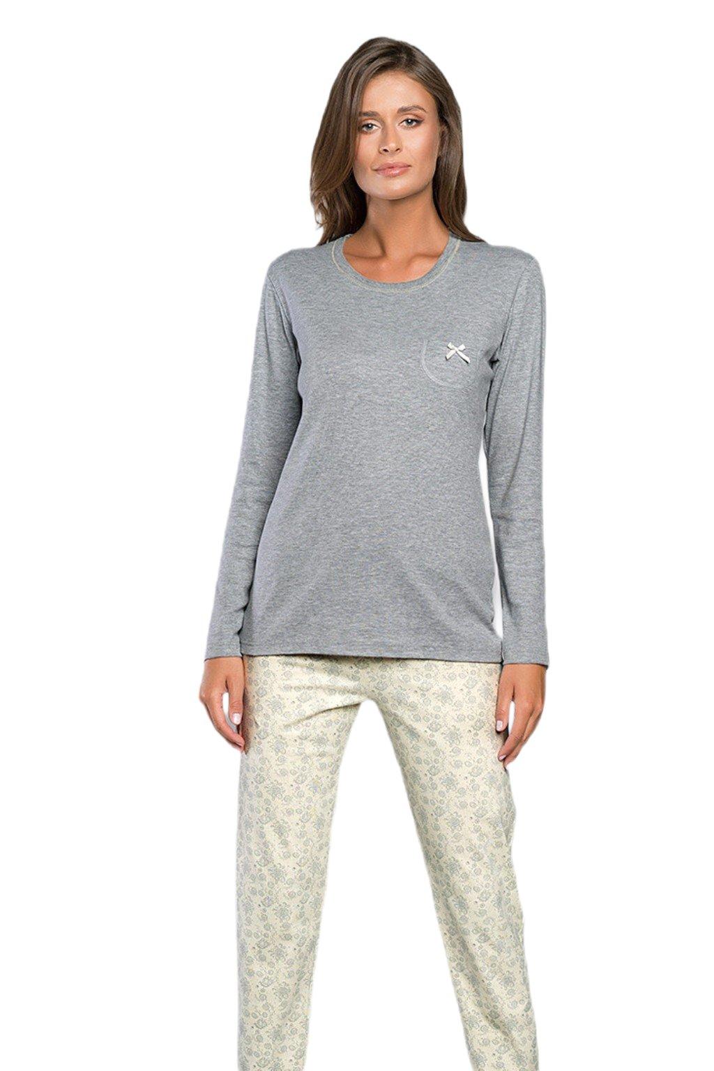 Dámské pyžamo s dlouhým rukávem Italian Fashion Trina.