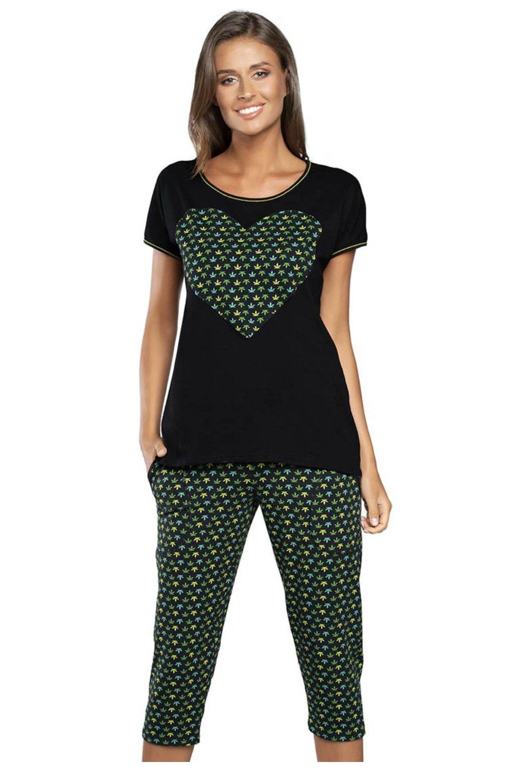 Dámské pyžamo s krátkým rukávem Italian Fashion Vege