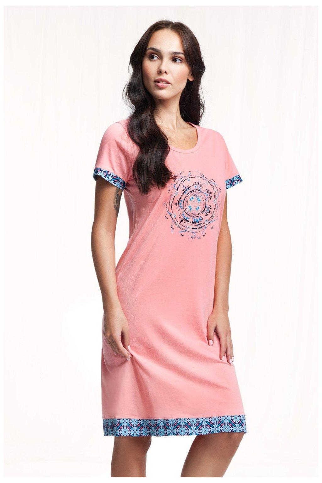 Dámská noční košile s krátkým rukávem Luna 298