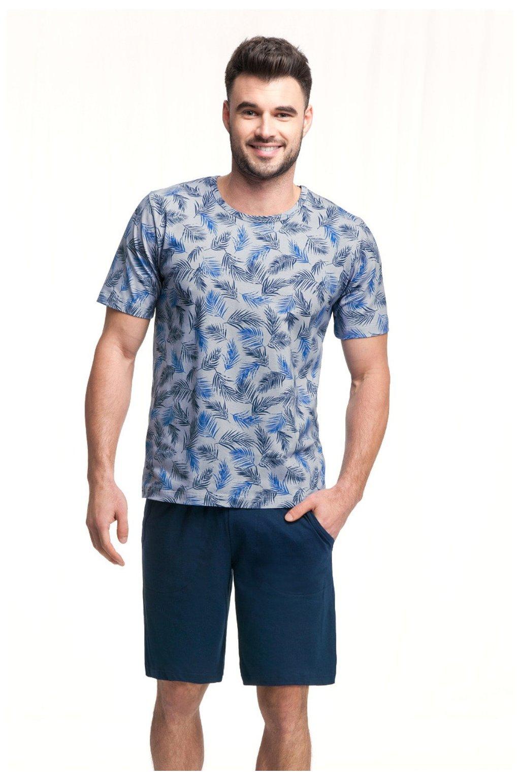 Pánské pyžamo s krátkým rukávem Luna 726
