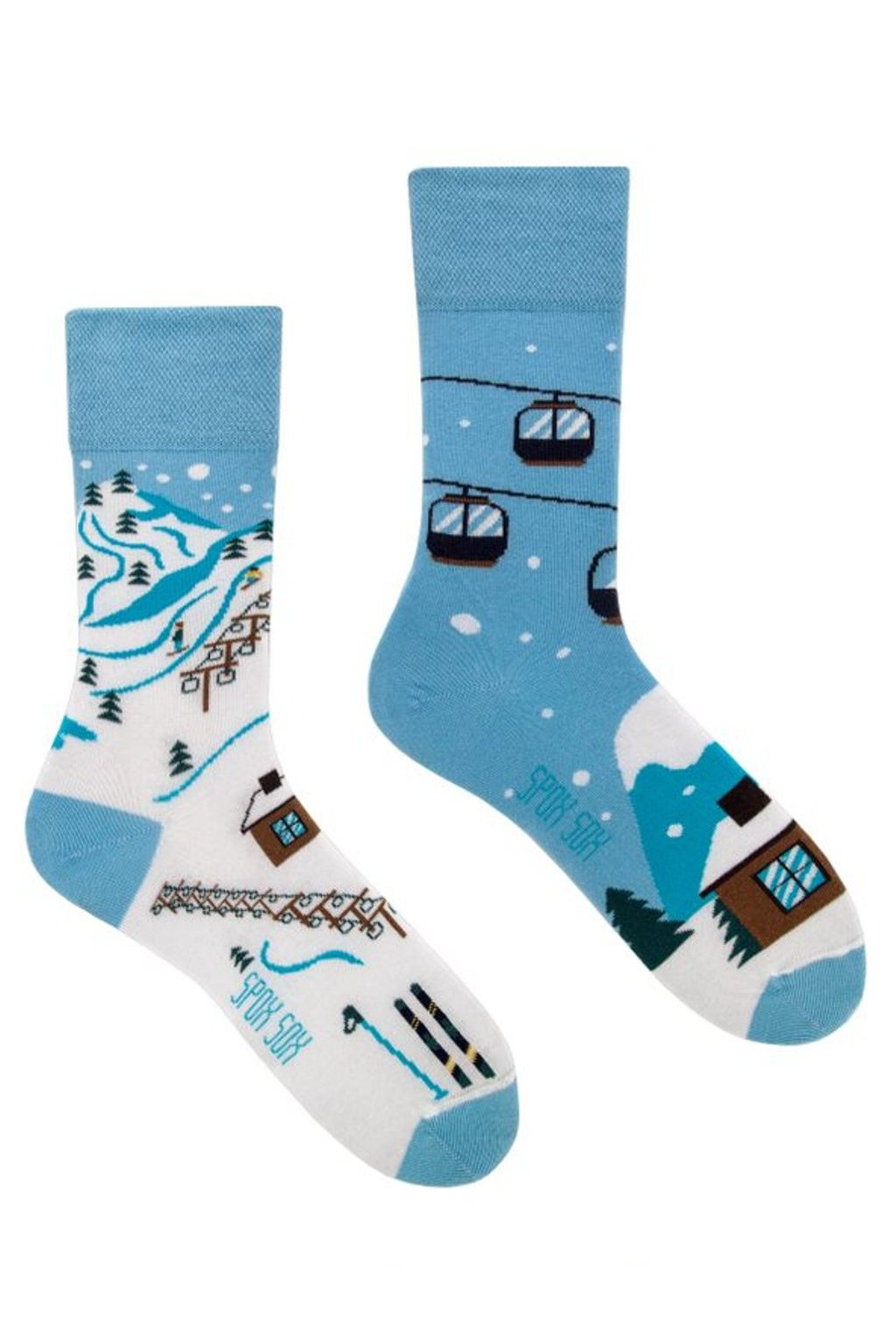 Veselé ponožky Spox Sox lyžařské