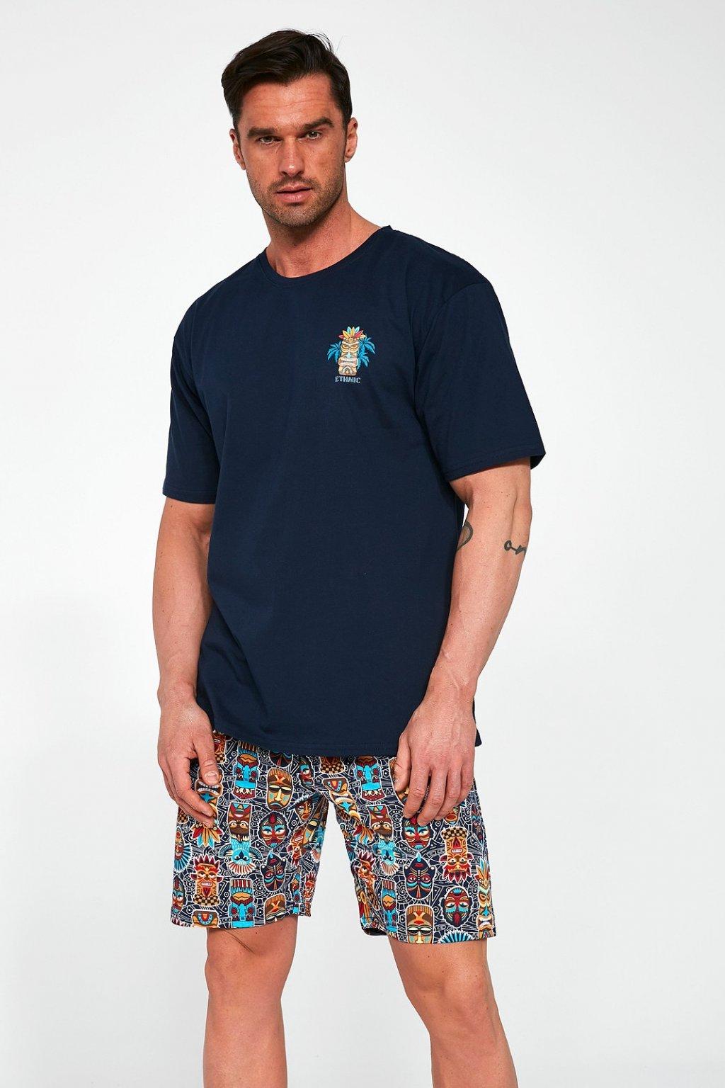 Pánské bavlněné pyžamo Cornette 326/109 Ethnic