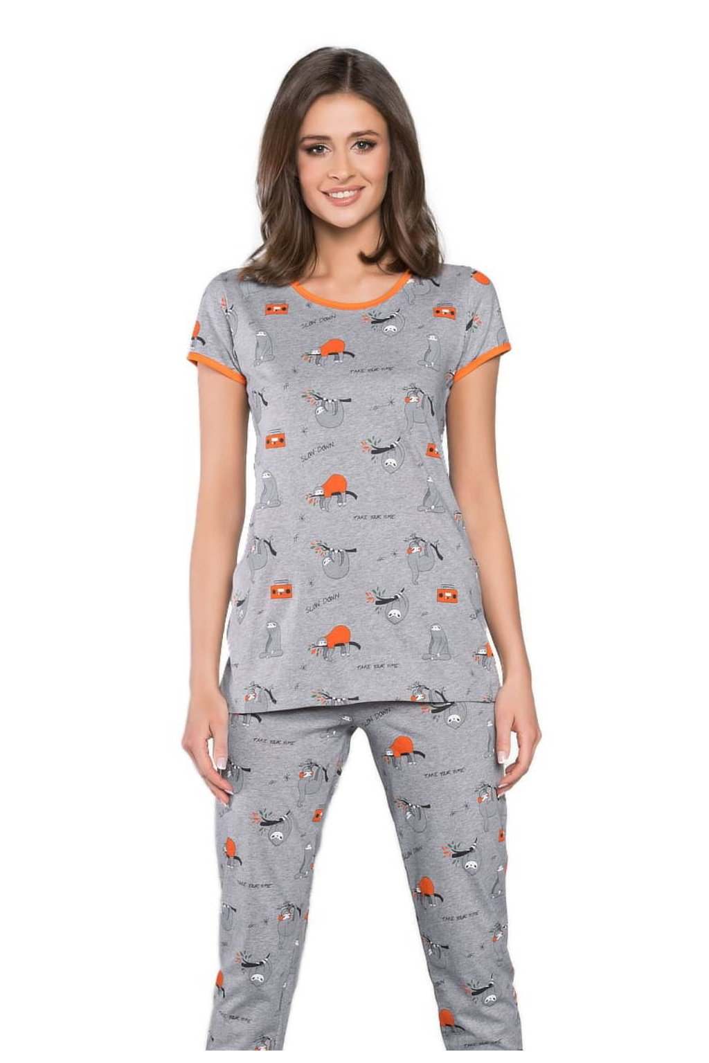 Dámské pyžamo s krátkým rukávem Italian Fashion Orso