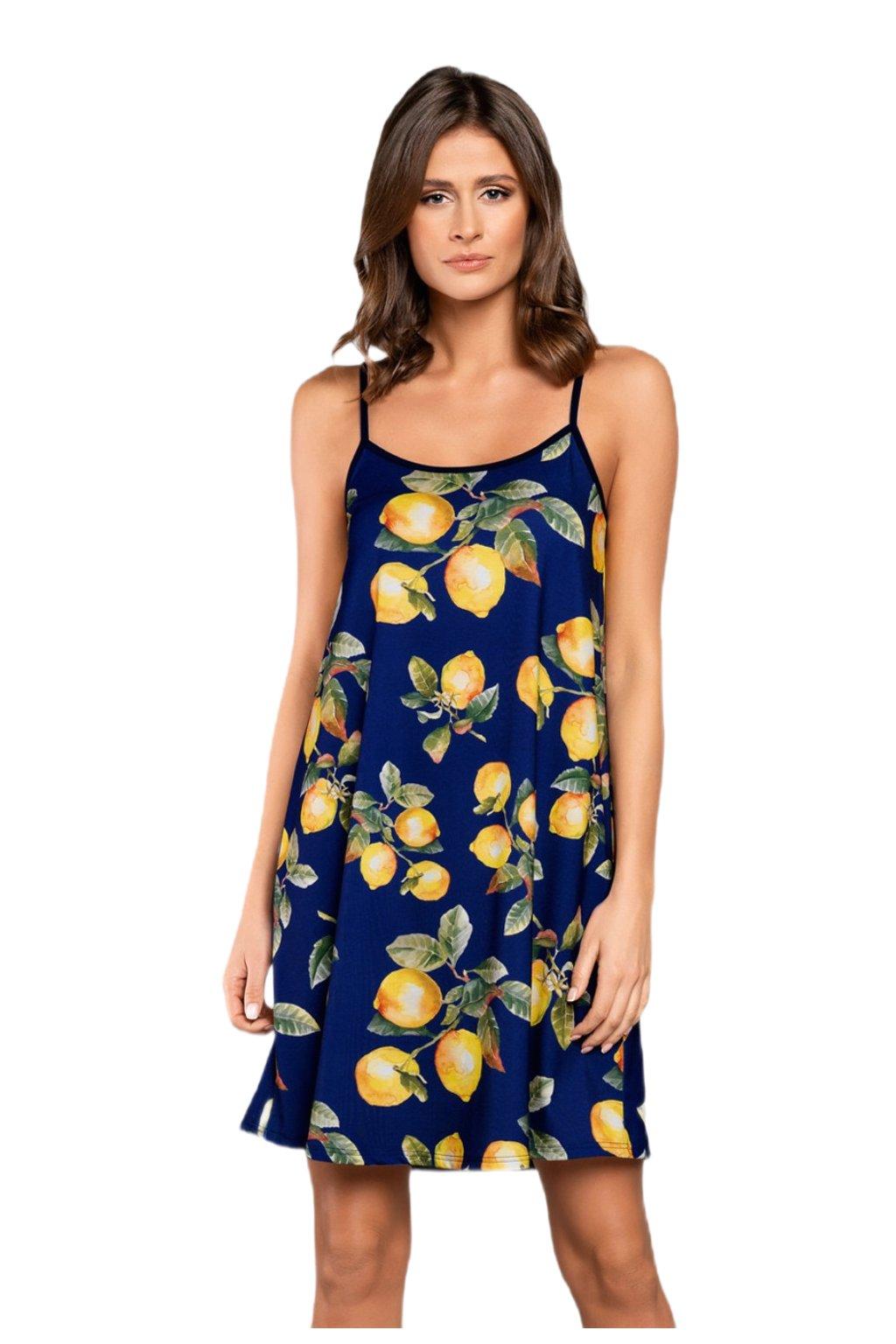 Dámská noční košile na ramínko Italian Fashion Lemon.