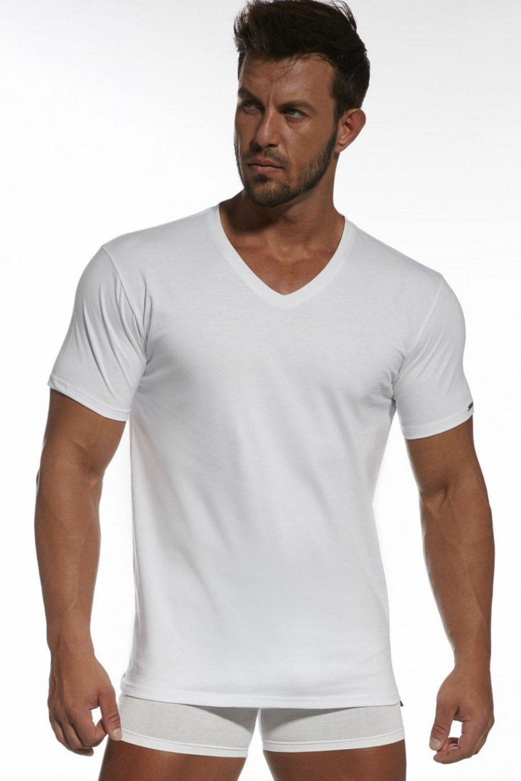 Pánské triko Cornette Authentic 201 Bílá