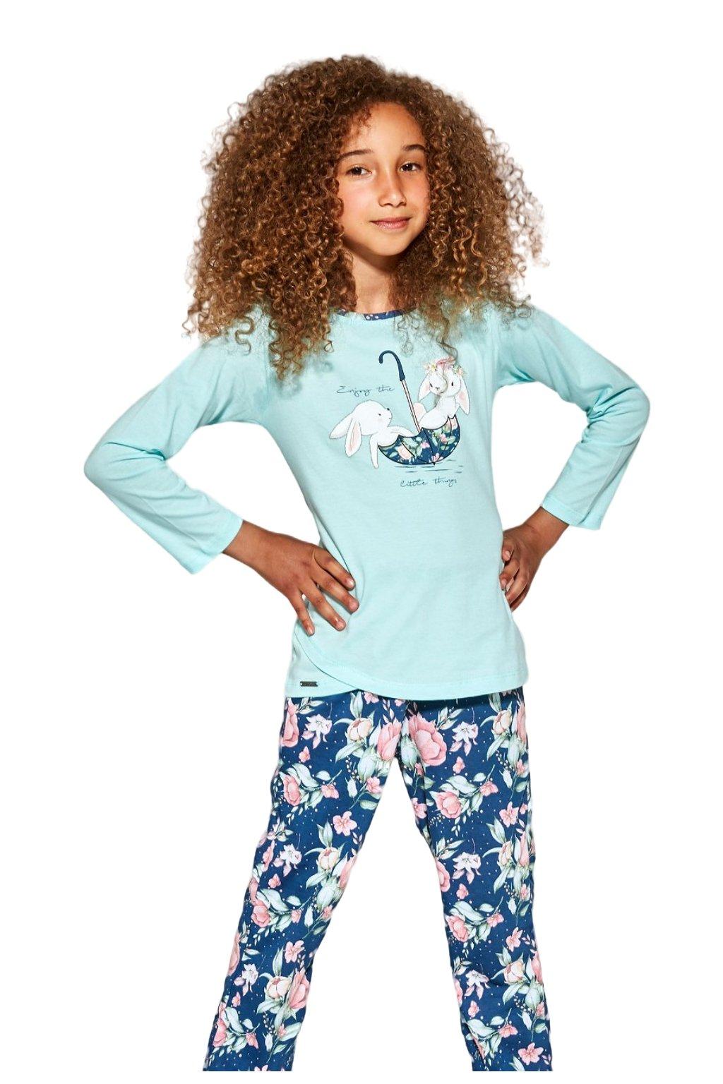 Dívčí pyžamo Cornette 031/140 Umbrella