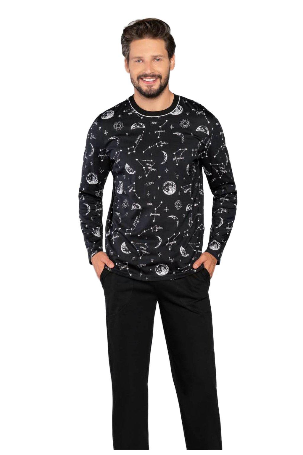Pánské bavlněné pyžamo Italian Fashion Jupiter.