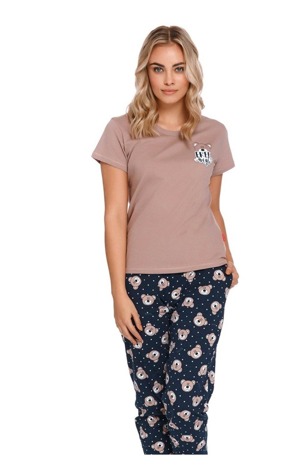 Dámské pyžamo s krátkým rukávem Doctor Nap 9910