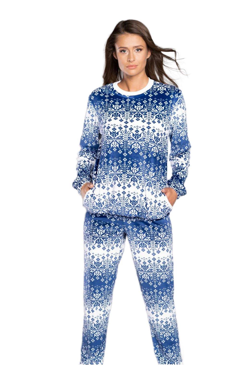 Domácí dámský komplet Italian Fashion Snow blue